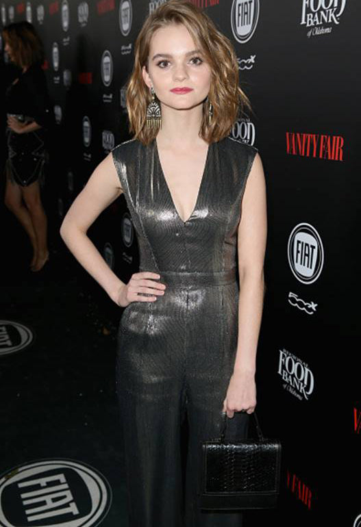 Kerris Dorsey wears Sequin's Pavone Earrings