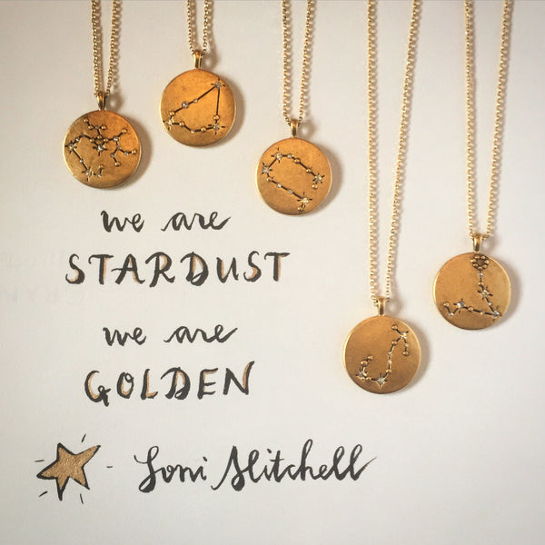 We are stardust, we are golden... Joni Mitchell