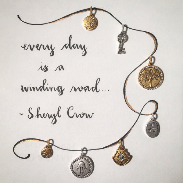 #SequinSayings - Every Day is a Winding Road