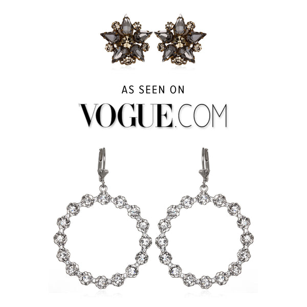 Bauhaus Earrings on Vogue.com