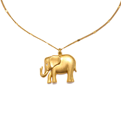 Elephant Mystic Talisman Necklace