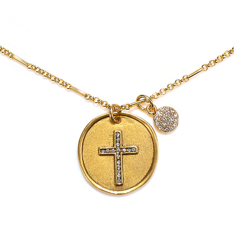 Cross Talisman Necklace