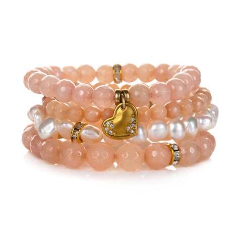 """Kind"" Color Karma Bracelet Set"