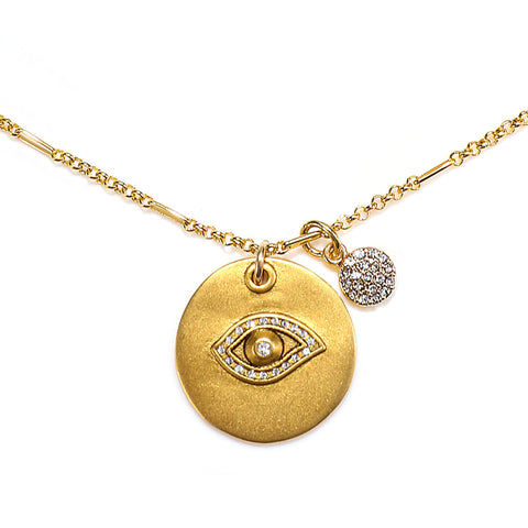 Evil Eye Talisman Necklace