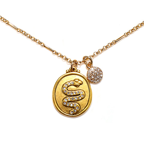 Snake Talisman Necklace
