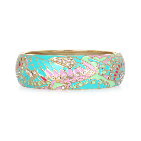 Mariposa Mint Wide Bangle Bracelet