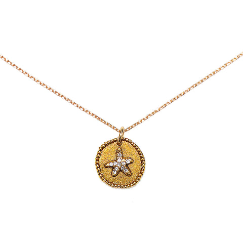 Starfish Talisman Necklace