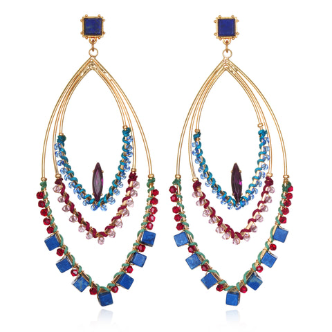 Acapulco Statement Earrings