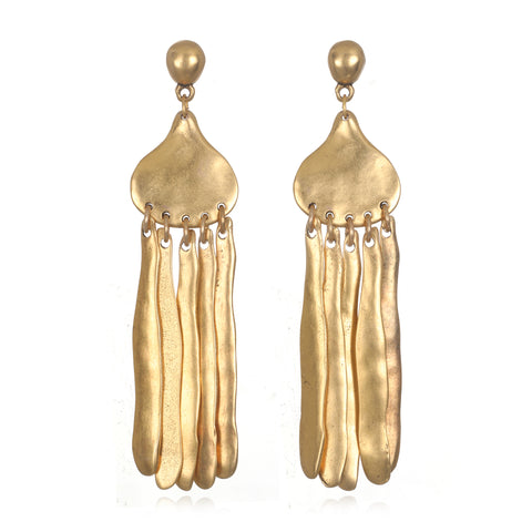 Anastasia Sculpted Statement Earrings