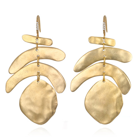 Angelica Sculpted Statement Earrings