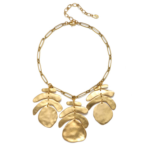 Angelica Sculpted Statement Necklace