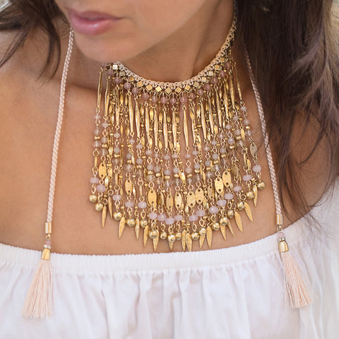 Anguilla Statement Choker Necklace