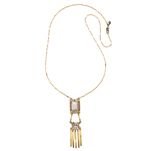 Antoinette Statement Pendant Necklace