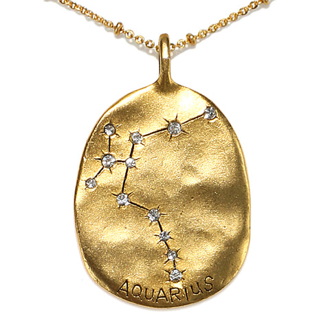 Aquarius Stargazer Necklace