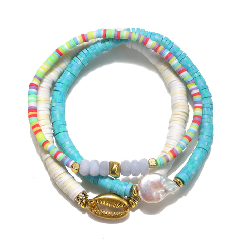 Beach Treasure Bracelet Set