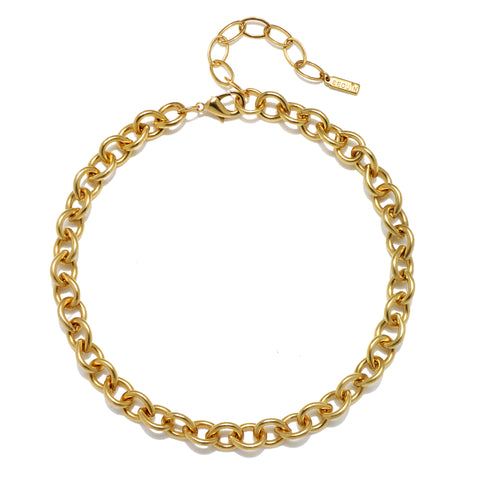 Beatrix Chain Choker Necklace