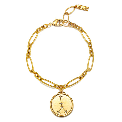 Cancer Constellation Charm Bracelet