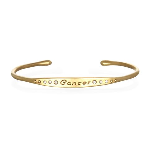 Cancer Astral Cuff Bracelet