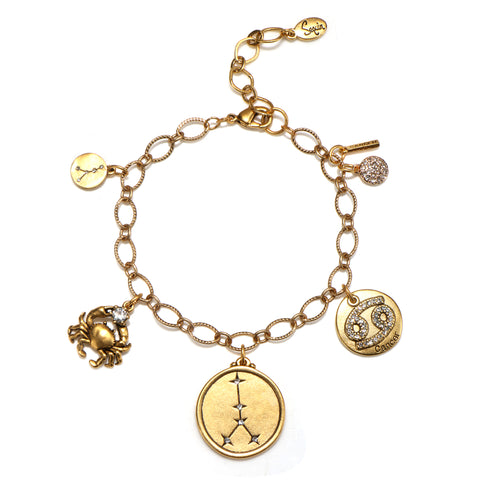 Cancer Super Zodiac Star Maps Bracelet