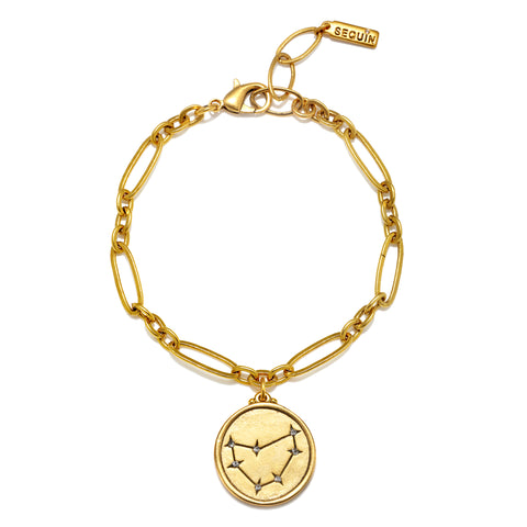 Capricorn Constellation Charm Bracelet