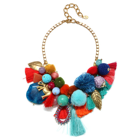 Casa Azul Statement Choker Necklace