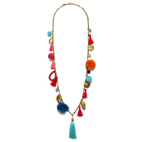 Casa Azul Statement Pendant Necklace