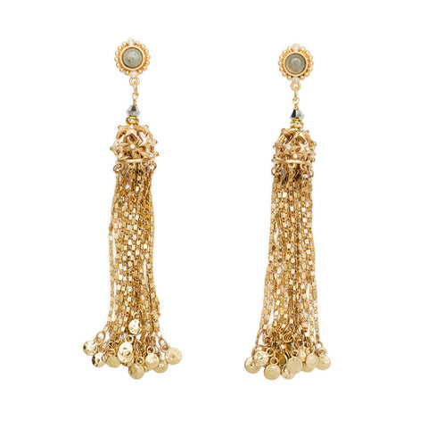 Comet Tassel Earrings