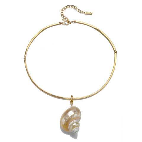 Concha Statement Shell Choker