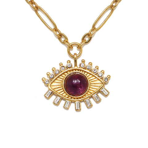 Dalila Evil Eye Talisman Necklace