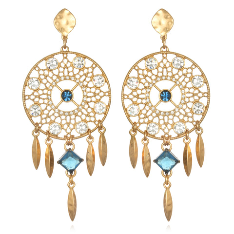 Deco Dreamcatcher Earrings