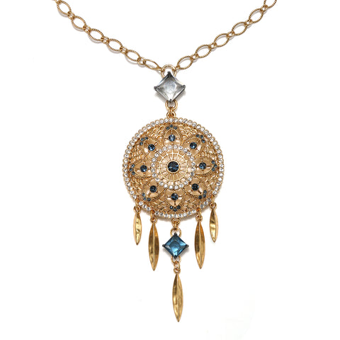 Deco Dreamcatcher Necklace