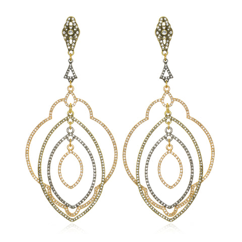 Elegancia Samba Statement Earrings