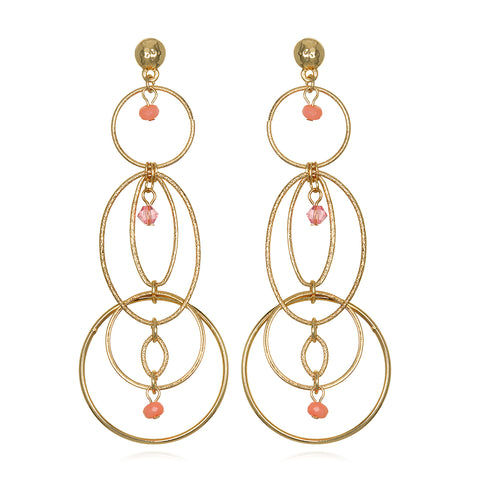 Ellipse Statement Earrings