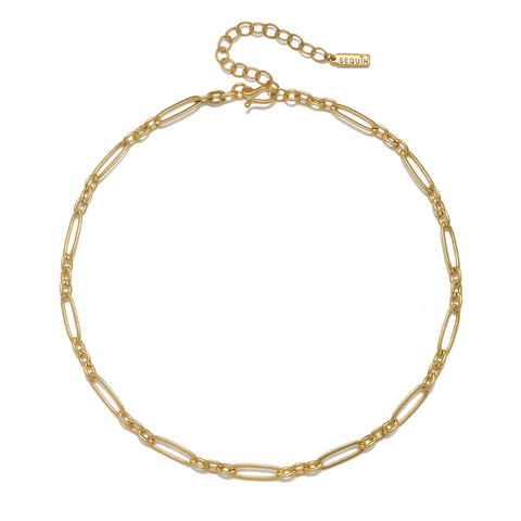 Figaro Link Choker Necklace