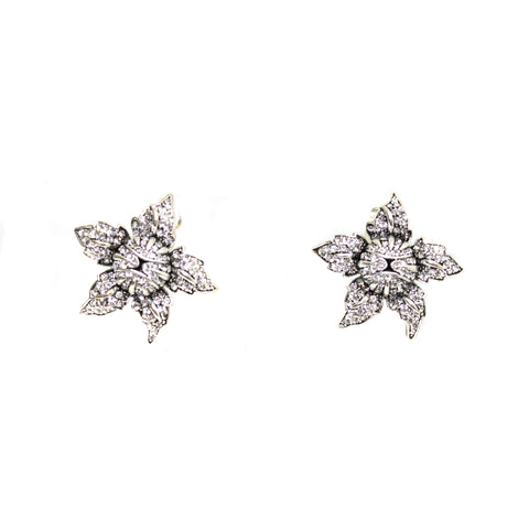 Fleur Crystal Earrings