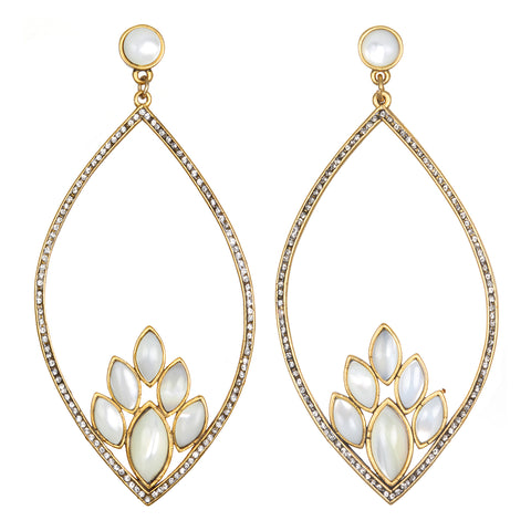 Frangipani Drop Earrings
