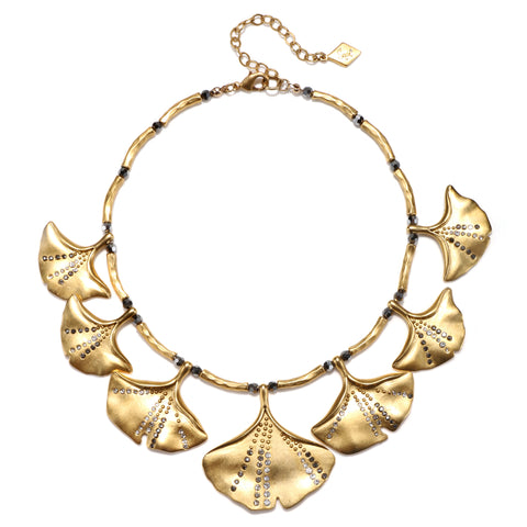 Ginkgo Statement Necklace