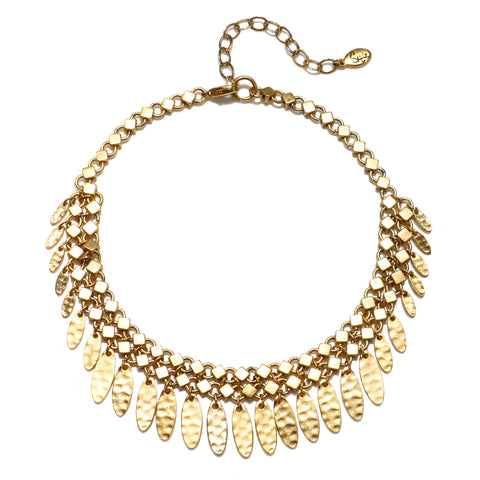 Gold Rush Choker Necklace