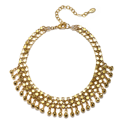 Gold Standard Choker Necklace
