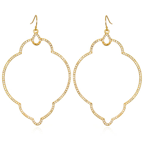 Gold Samba Earrings