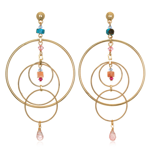 Gyroscope Statement Earrings