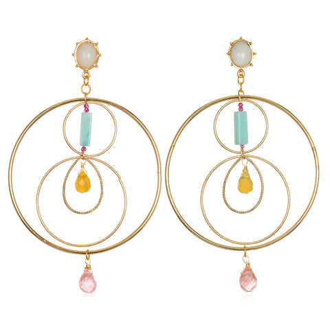 Halo Statement Earrings