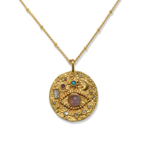 Illumination Talisman Medallion Necklace