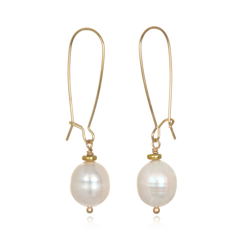 Imogen Pearl Drop Earrings