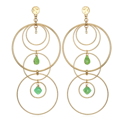 Intersection Statement Earrings