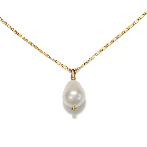 Isobel Pearl Drop Pendant Necklace