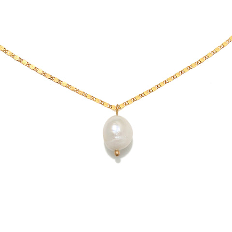 Isobel Baroque Pearl Drop Necklace