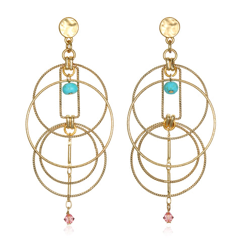 Kinetic Statement Earrings