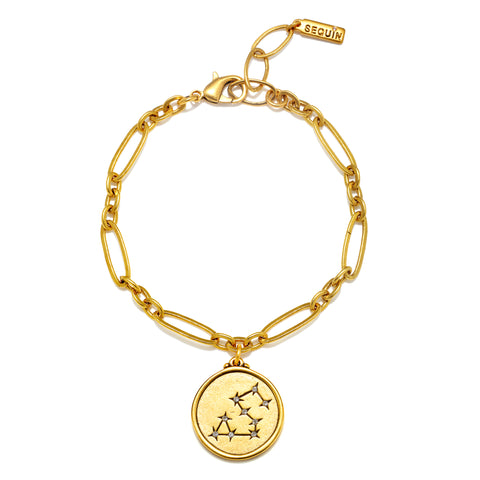 Leo Constellation Charm Bracelet