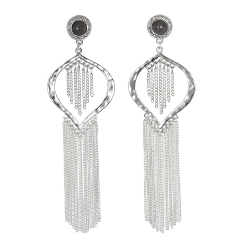 Liquid Fringe Earrings